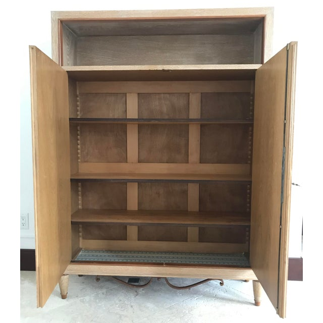 1940s 1940s Mid Century French Cerused Cabinet For Sale - Image 5 of 11