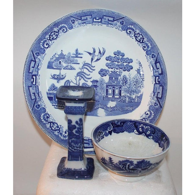 19th-20th Century Blue Willow Collection, 9 Pcs For Sale - Image 9 of 10