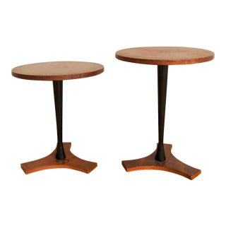 Mid Century Modern Side Tables - a Pair