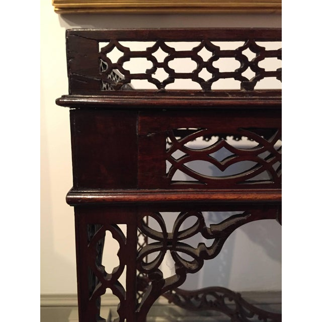 Late 18th Century Chinese Chippendale Mahogany Tea/Coffee Table, Circa 1790 For Sale - Image 5 of 11