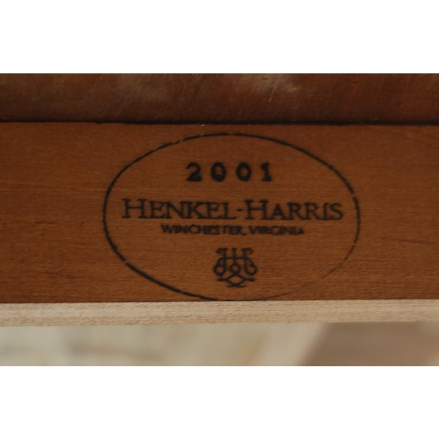 Henkel Harris Oval Cherry Model 2206 Dining Room Table For Sale - Image 10 of 12