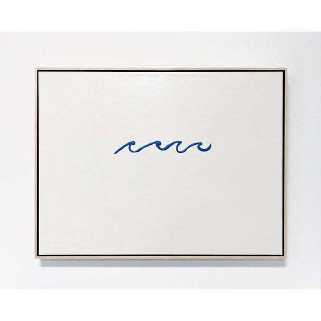 "John O'Hara ""Wave"" Encaustic Painting For Sale In Saint Louis - Image 6 of 7"