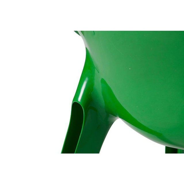 Green Vico Magistrati Vicario Lounge Chairs For Sale - Image 8 of 10