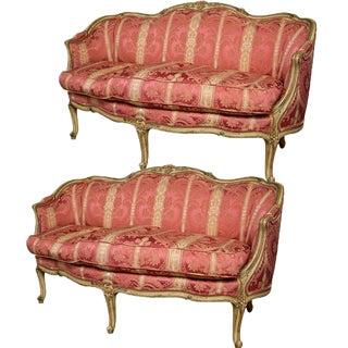 John Widdicomb French Louis XV Settees - A Pair