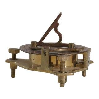 Vintage Brass Sextant