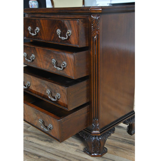 Chippendale Niagara Furniture Chippendale Night Stand For Sale - Image 3 of 8