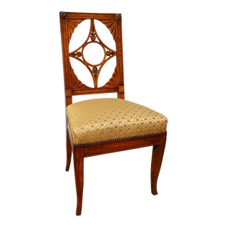 19th Century Neoclassical Side Chair For Sale