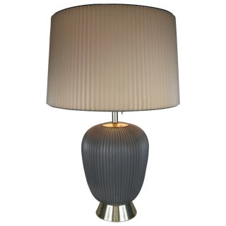 Modern 1950's Ceramic Lamp by Gerald Thurston for Lightolier For Sale