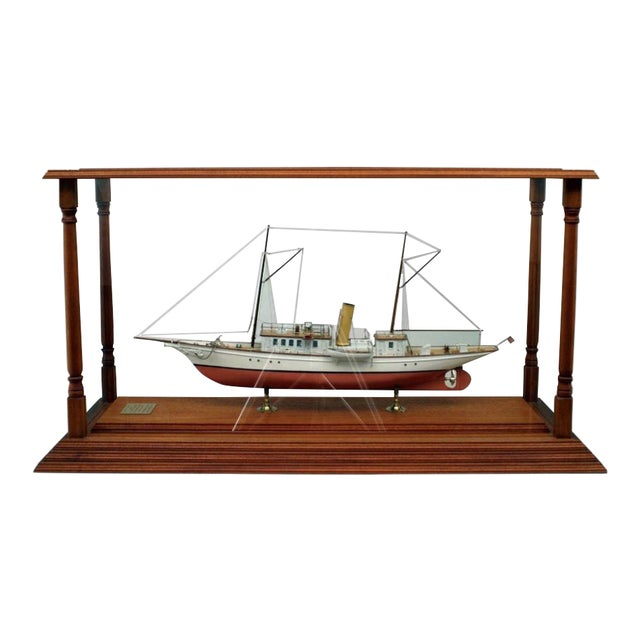 19th Century American Encased Ship Model, Lady of Torfrida For Sale