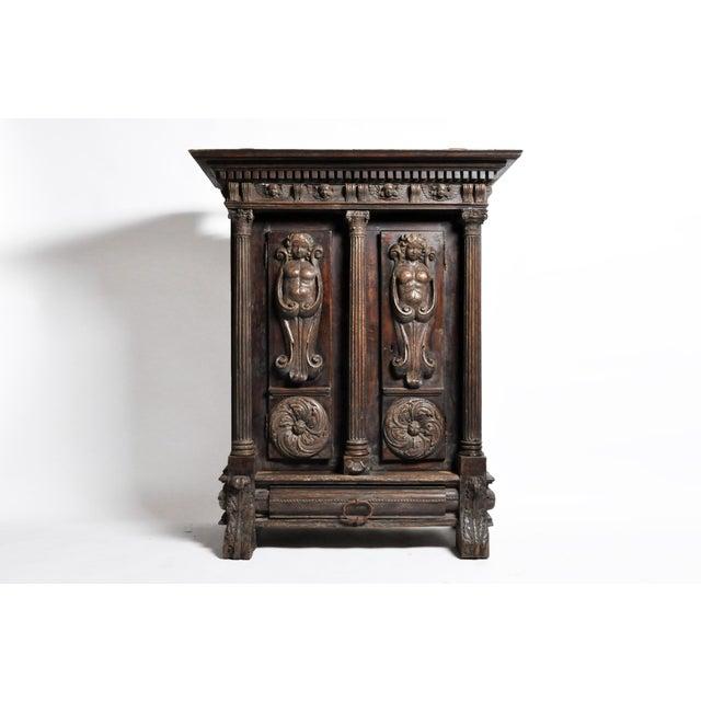 Impressive Renaissance Revival Armoire For Sale - Image 13 of 13