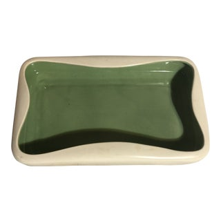 Mid Century Modern Ceramic Dish For Sale