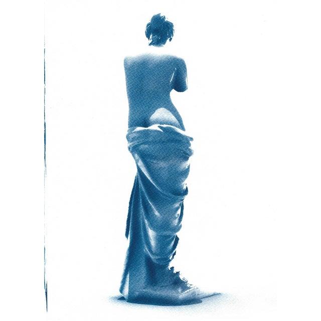 Venus de Milo Greek Sculpture Cyanotype Print - Image 2 of 5
