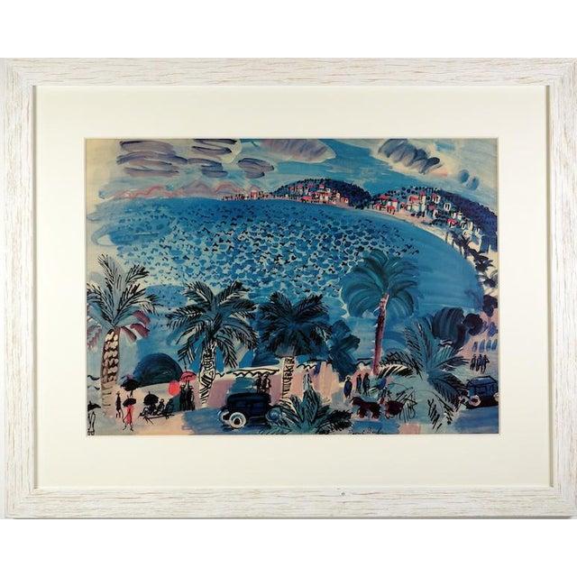 """La Promenade Des Anglais"" Lithograph by Raoul Dufy For Sale"