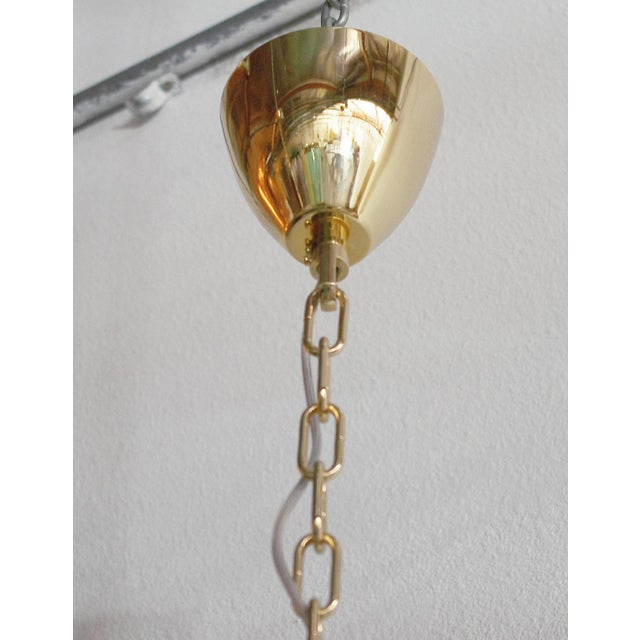 Tropicana Palmette Chandelier by Fabio Ltd For Sale - Image 9 of 11