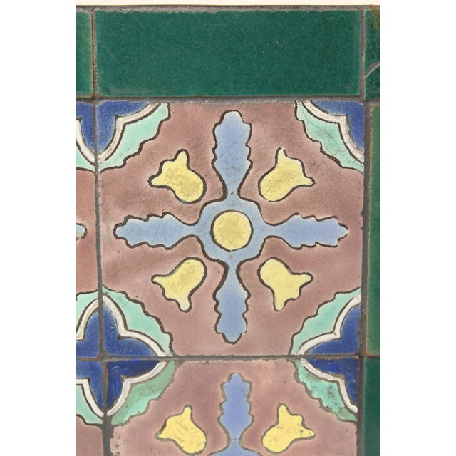 1930s 1930s Art Deco Tile Top Occasional Table For Sale - Image 5 of 11