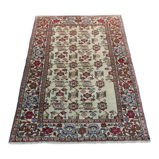 Handmade Turkish Anatolian Rug - 4′6″ × 6′10″ For Sale