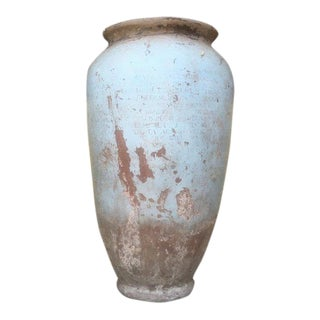 Italian Rustic Pompeii Clay Urns (3 Available) For Sale