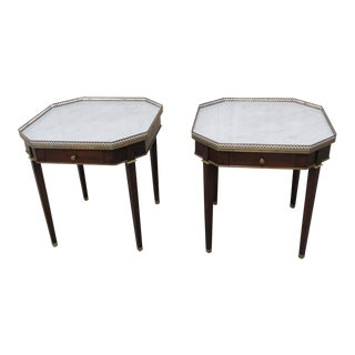 Early 20th Century Directoire Style Bouillotte Tables - a Pair For Sale