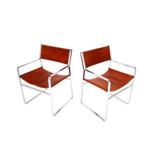 Pair of Hans Wegner Chairs for Johannes Hansen For Sale