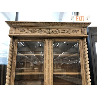 19th Century French Bleached Oak Bibliotheque Preview