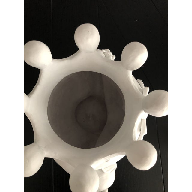 Contemporary Ceramic Vase by Artist Stefanie Boemhi For Sale - Image 9 of 11