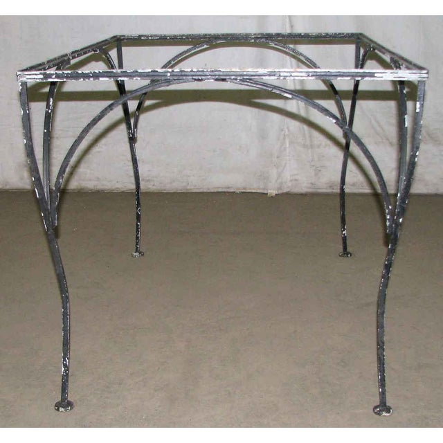 Wrought Iron Patio Table For Sale - Image 9 of 9