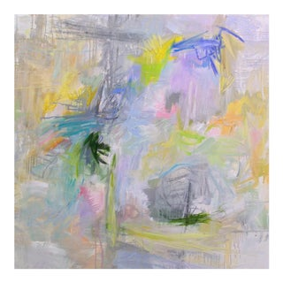 """""""Singapore Sunday"""" by Trixie Pitts Abstract Expressionist Oil Painting For Sale"""