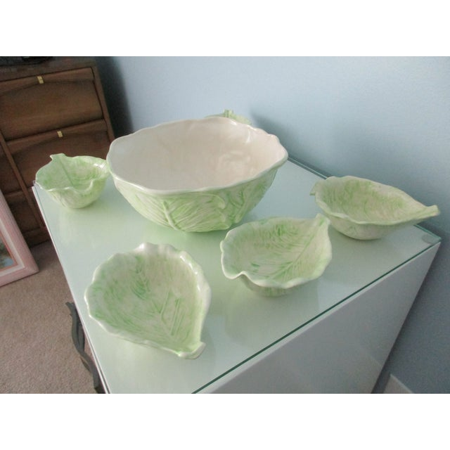 1970s Cabbage Ware - Set of 7 For Sale - Image 6 of 12