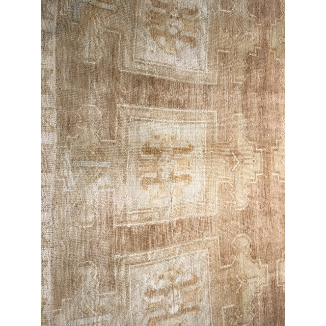 "Bellwether Rugs Vintage Turkish Oushak Rug - 6'6""x10'4"" - Image 4 of 7"