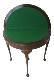 Image of Queen Anne Card and Game Tables