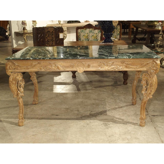 Antique English Limewood Console Table, Circa 1785 For Sale - Image 10 of 11