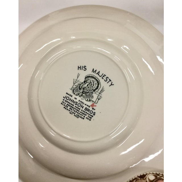 Johnson Bros His Majesty Turkey Dinnerware - Set of 71 For Sale - Image 11 of 13