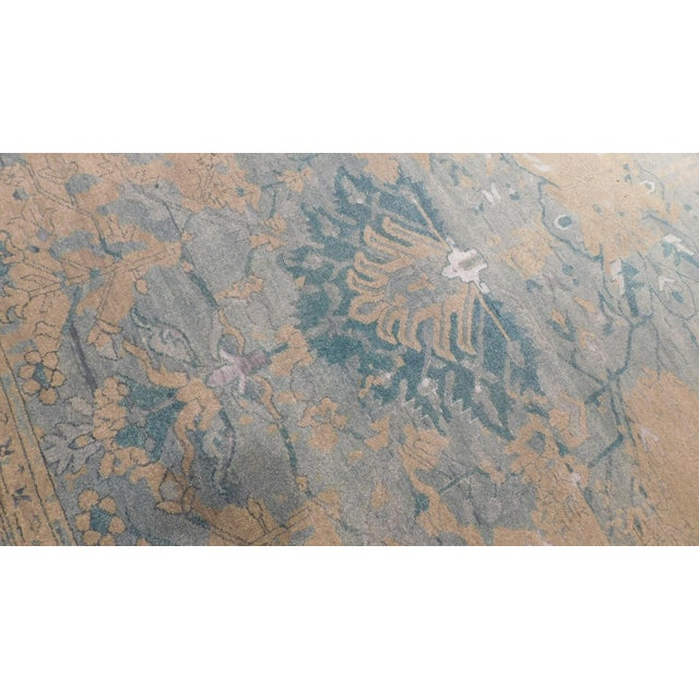 Erased Hand-Knotted Luxury Rug - 8′ × 10′ - Image 6 of 8