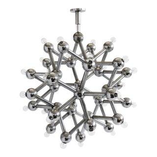 Molecular Chandelier by Kalmar For Sale
