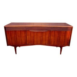 Vintage Danish Modern Rosewood Credenza For Sale