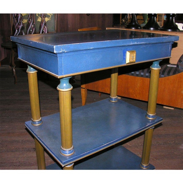 1960s Vintage James Mont Stand Table For Sale - Image 10 of 15