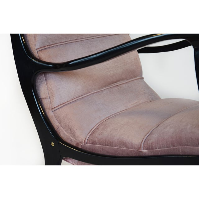 Restored Ezio Longhi Lounge Chairs - A Pair - Image 3 of 5