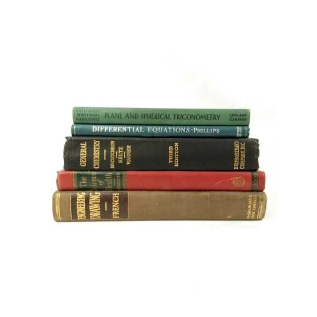 Vintage Technical & Scientific Book Collection - Set of 5 - Image 3 of 4