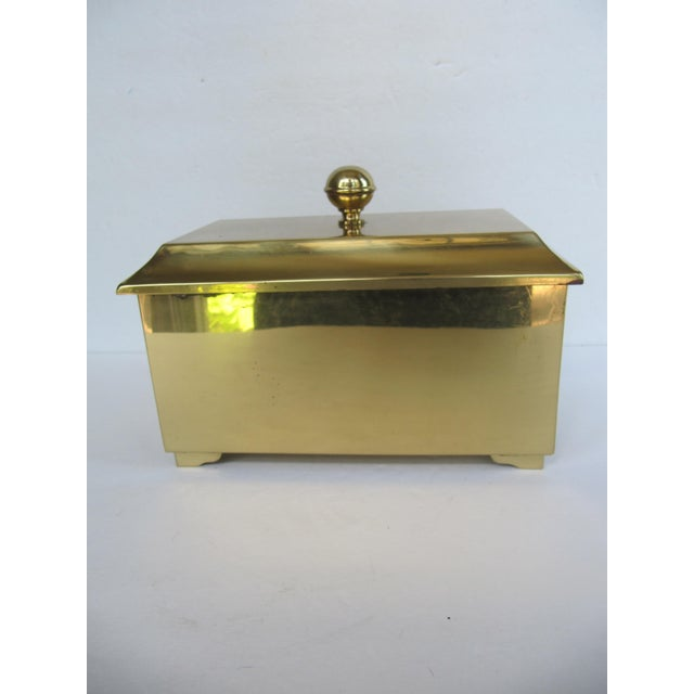 Brass Lided Box For Sale - Image 10 of 13