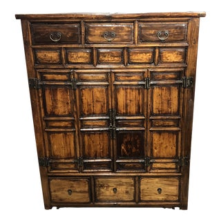 Antique Chinese Scripture Cabinet