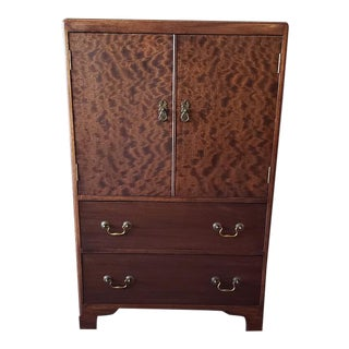 Vintage Mahogany Tallboy C.1940 For Sale