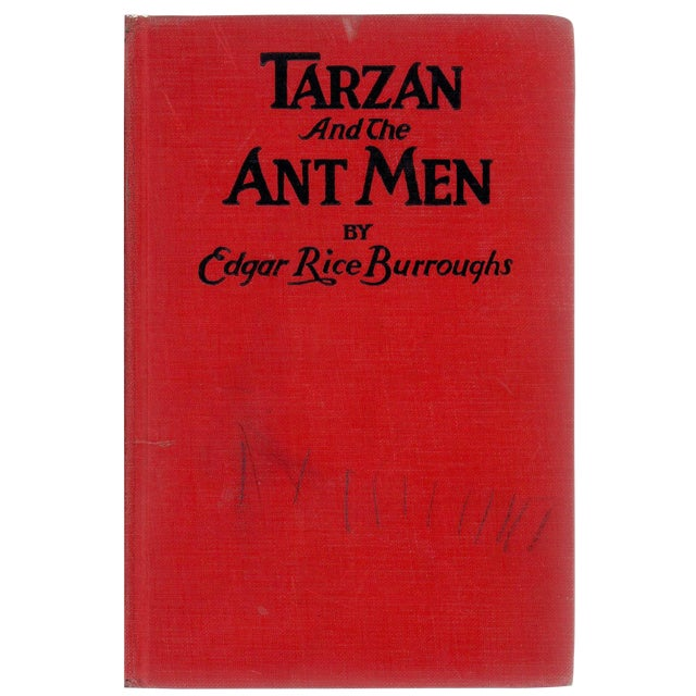 """1924 """"Tarzan and the Ant Men"""" Collectible Book For Sale"""