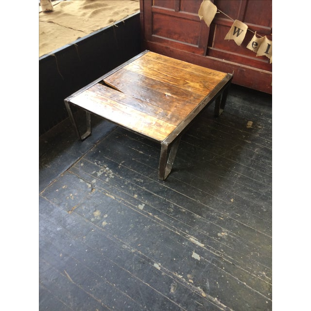 Industrial Pallet Table - Image 4 of 7