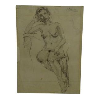 "Original Drawing Sketch ""Tammi"" by Tom Sturges Jr."