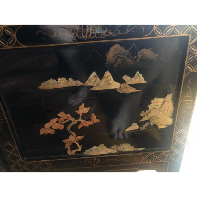 Vintage Oriental Room Divider For Sale In Little Rock - Image 6 of 11