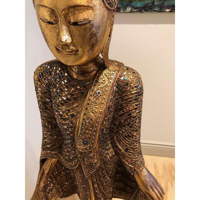 1950's Thailand Gandhara Buddha For Sale In Tampa - Image 6 of 7
