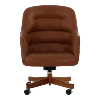 Ward Bennett Executive Desk Chair For Sale