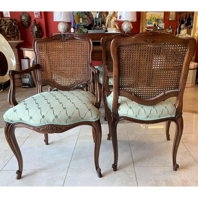 Vintage Kindel Borghese Dining Chairs - Set of 6 For Sale In Tampa - Image 6 of 11
