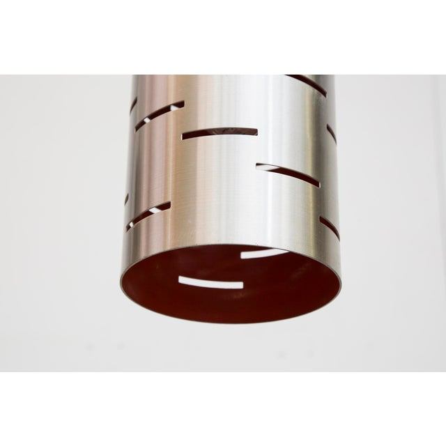 Mod Cylinder Pendant Light With Linear Cut - Image 6 of 8
