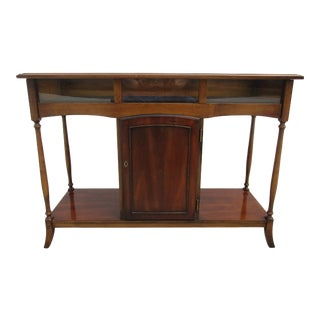 20th Century Traditional Console or Display Table For Sale